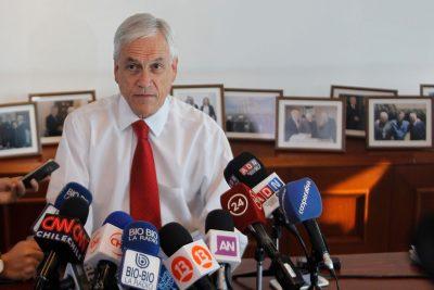 Cadem: 73% cree que Sebastián Piñera sabía de los negocios de Bancard