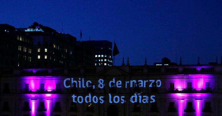 FOTOS | Las mejores imágenes que dejó la marcha por el Día Internacional de la Mujer en Chile