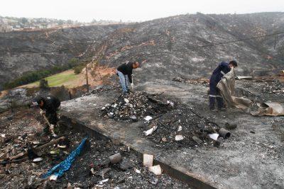 Incendios: más de 9 mil trabajadores afectados y gastó estatal de $4.680 millones