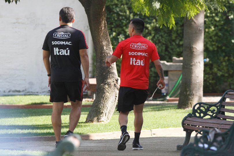 FIFA llegó sorpresivamente hasta Juan Pinto Durán para realizar control antidopaje a la Roja