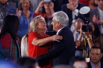 """Cecilia Morel y proclamación de Piñera: """"Sebastián es un hombre que siempre ha dado da la cara"""""""
