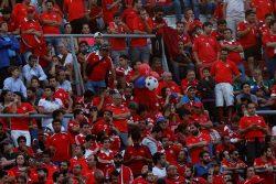 VIDEO | Seguro los castigan (?): Argentina no dejó que Chile cantara el himno como se debe