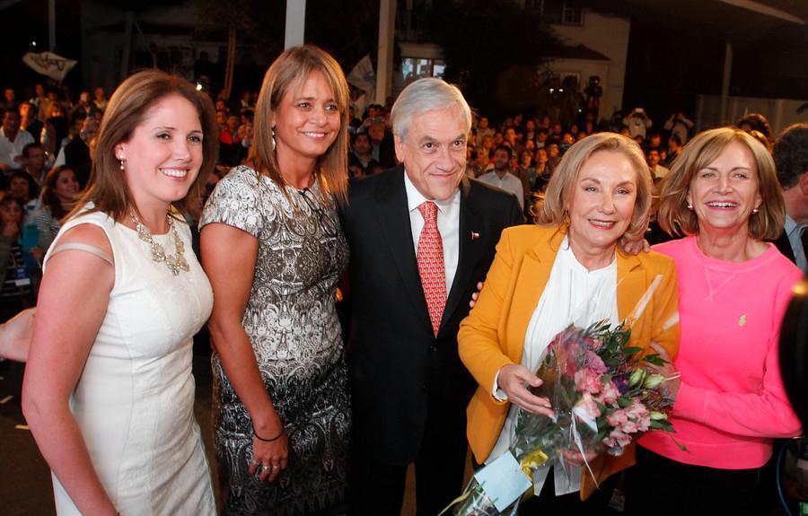 """UDI proclama a Piñera como candidato presidencial y pide que sus ideas sean """"el corazón"""" de su Gobierno"""