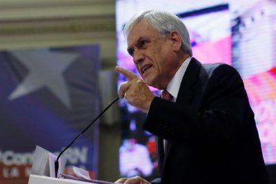 """Sebastián Piñera: """"Tenemos que hacer un muy buen gobierno para que Chile salga del pantano"""""""