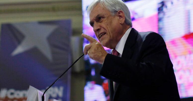 """""""Sebastián Piñera: """"Tenemos que hacer un muy buen gobierno para que Chile salga del pantano"""""""""""