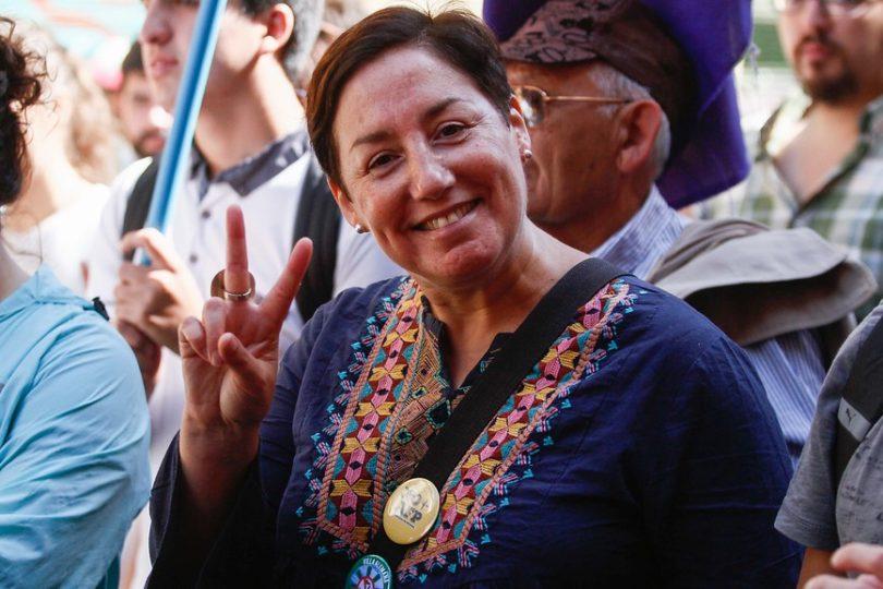 """Beatriz Sánchez inicia su candidatura presidencial por RD: """"A Chile le hace falta el Frente Amplio"""""""