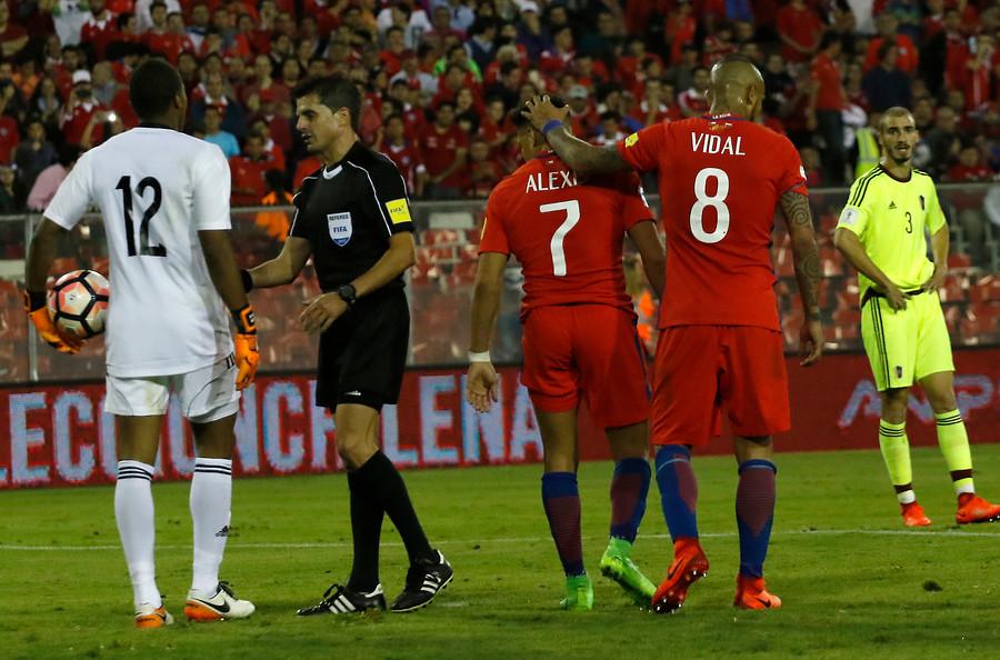 Vidal explica la trastienda del penal fallado por Alexis