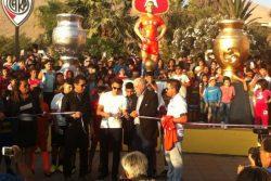 FOTOS | Alexis Sánchez fue el invitado especial en la inauguración de su estatua en Tocopilla