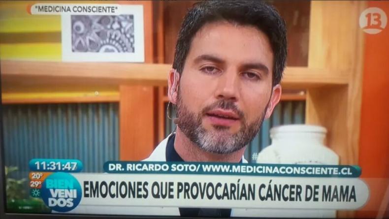 """Bienvenidos recibe denuncias en CNTV por doctor que dijo que el cáncer lo provoca """"el odio"""""""