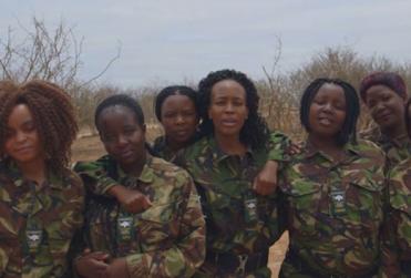Black Mamba, el grupo formado solo por mujeres para detener la caza furtiva de animales en África