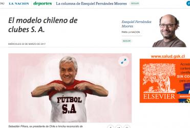 """""""El modelo chileno de clubes S.A."""": Diario argentino La Nación desmenuza la realidad futbolera nacional"""