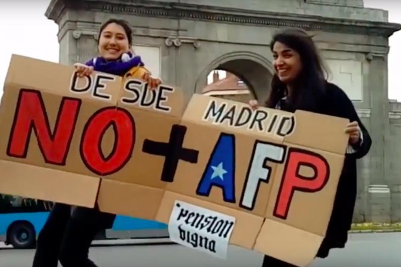 VIDEO | Así se vivió la marcha No+AFP en las calles de París, Barcelona y Berlín