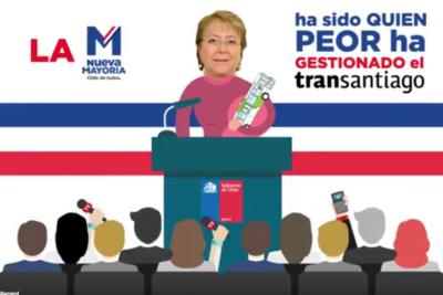 Video de Allamand sobre el Transantiago fue como un bocinazo en el oído a La Moneda