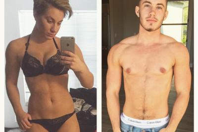 """""""Los estereotipos necesitan ser rotos"""": Transgénero publica su antes y después para crear conciencia"""
