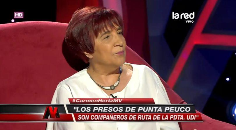 Video Las Frases De Carmen Hertz Contra Van Rysselberghe Por