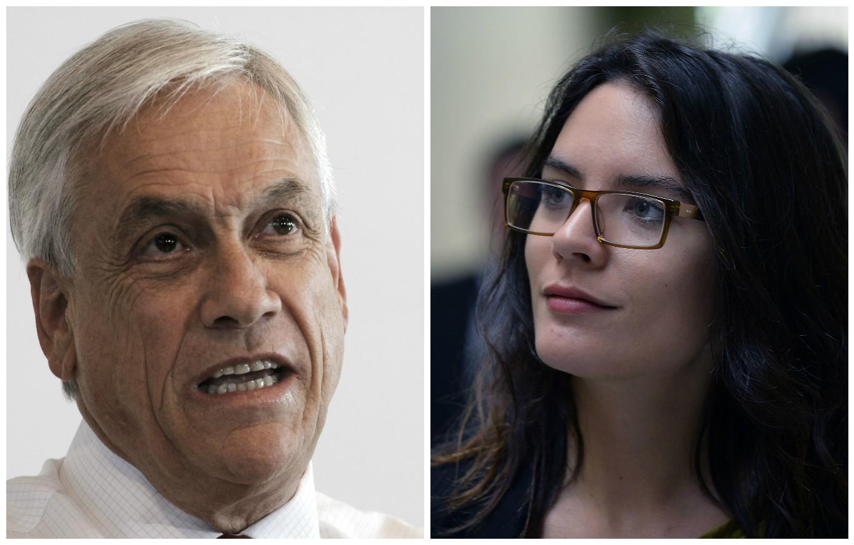 """""""El problema de Sebastián Piñera"""": Camila Vallejo lanza teoría sobre el ex presidente y Twitter explota"""