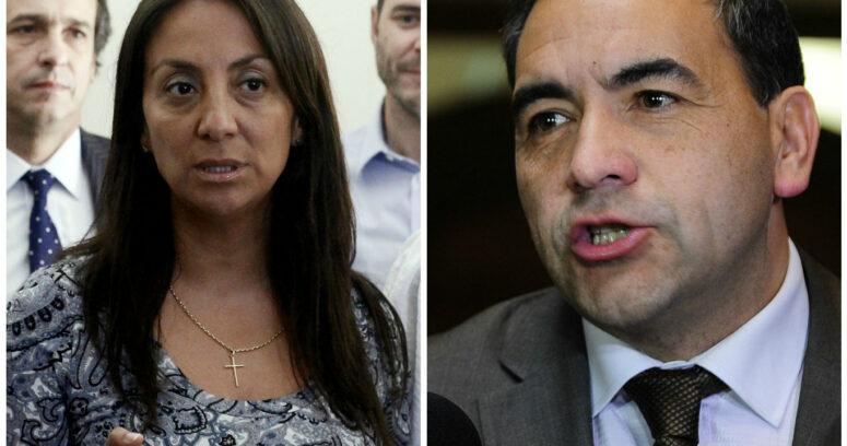 """""""Cecilia Pérez enrostra a futuro presidente de la Cámara un"""