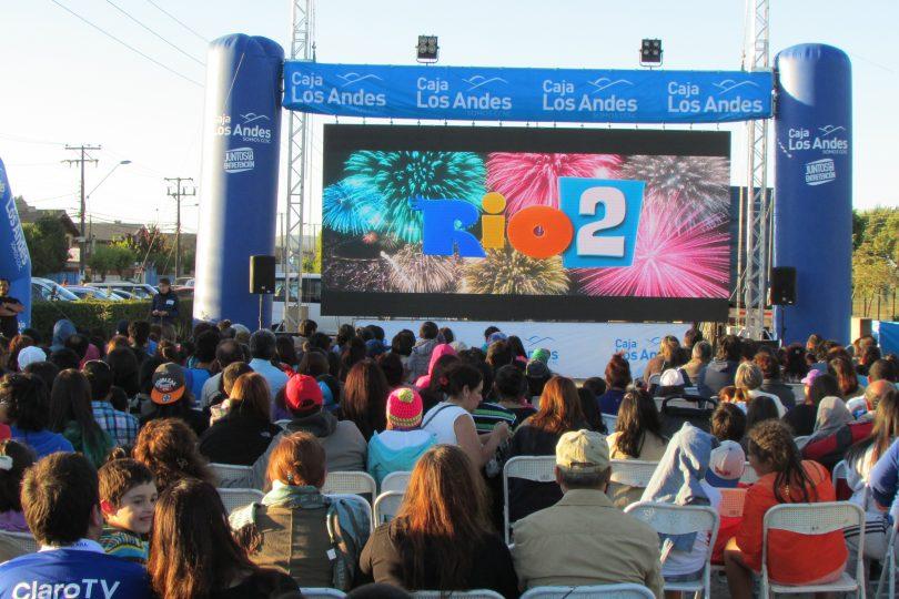 Marzo de película: parte ciclo de cine infantil gratis al aire libre en Santiago