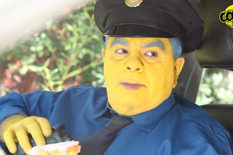 Comic Con transformó a Schiappacasse en jefe Gorgory en genial video