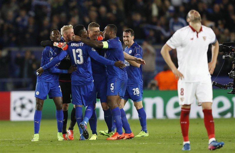 VIDEO | Se acabó el sueño de Sampaoli: Sevilla fue eliminado por Leicester City en Liga de Campeones