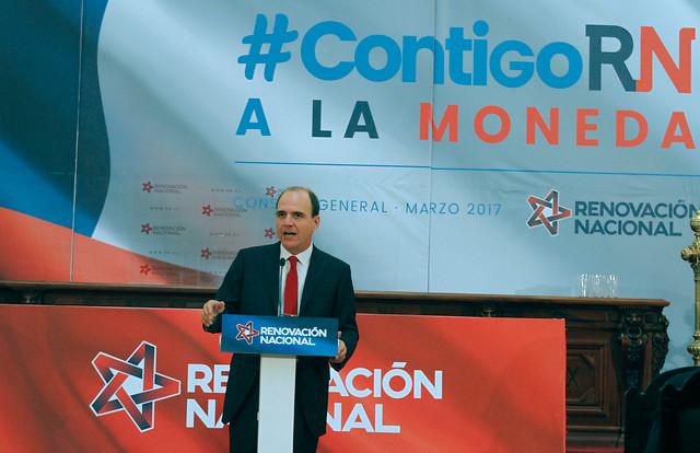 """Presidente de RN: """"Proponemos a Sebastián Piñera como nuestro candidato presidencial"""""""