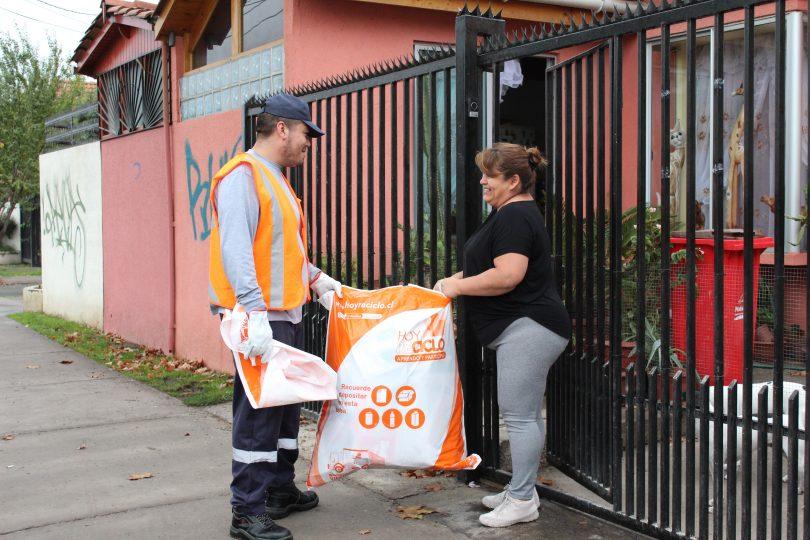 Cómo reciclan los chilenos según su  segmento socioeconómico
