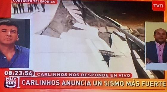 TVN fue multado con $11 millones por entrevista a vidente que predijo terremoto con 500 mil muertos en Chile