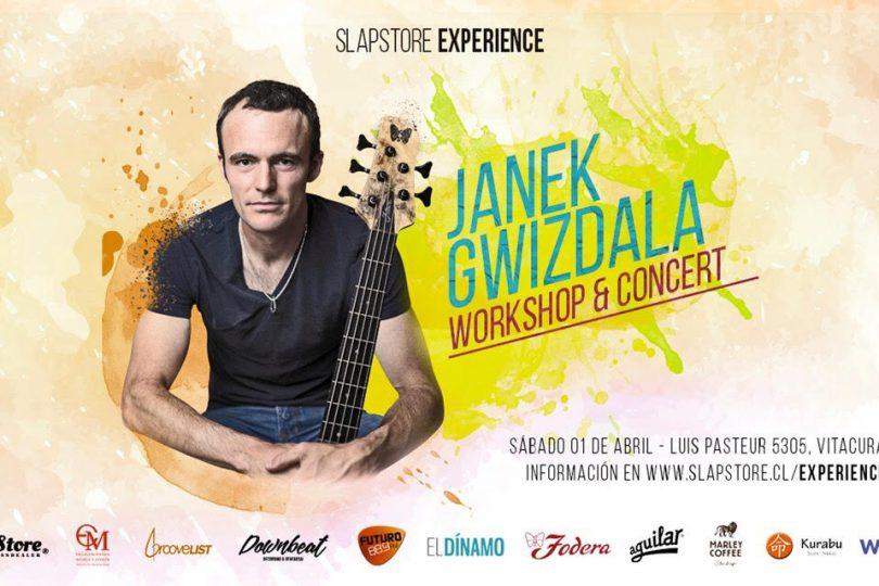 SlapStore Experience, la iniciativa que busca impulsar a los bajistas chilenos con exponentes de clase mundial