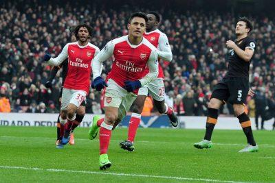 VIDEO |El renacer del Niño Maravilla: Alexis Sánchez vuelve al gol con este lujo por la FA Cup