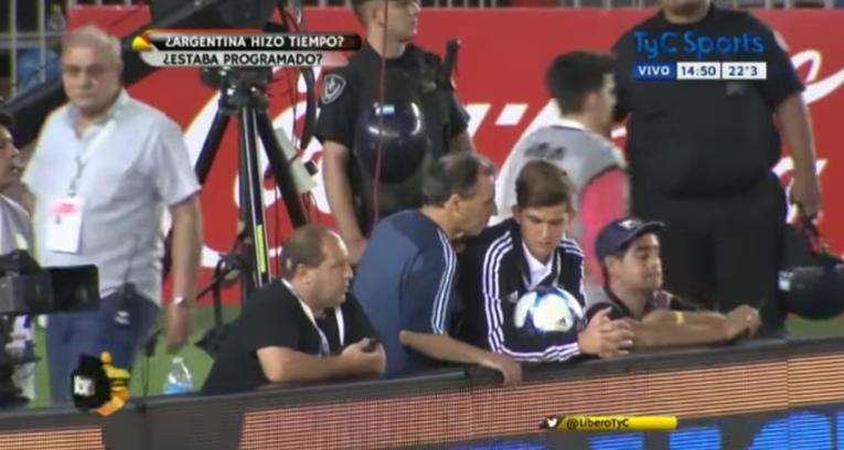 VIDEO  Nuevo registro deja en evidencia el juego sucio de Argentina contra Chile
