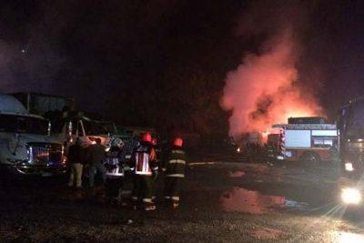 Camioneros podrían iniciar movilizaciones tras ataque incendiario en La Araucanía