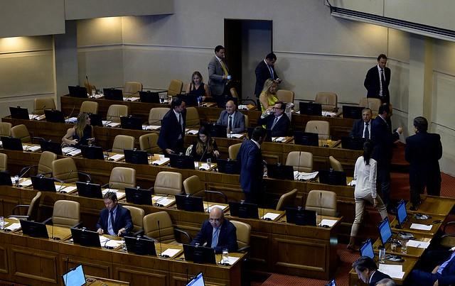 VIDEO | Inédita reacción de la UDI en la Cámara