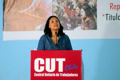 Bárbara Figueroa anuncia que volverá a competir por la presidencia de la CUT