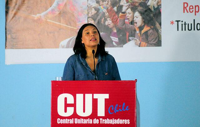 """""""Bárbara Figueroa anuncia que volverá a competir por la presidencia de la CUT"""""""