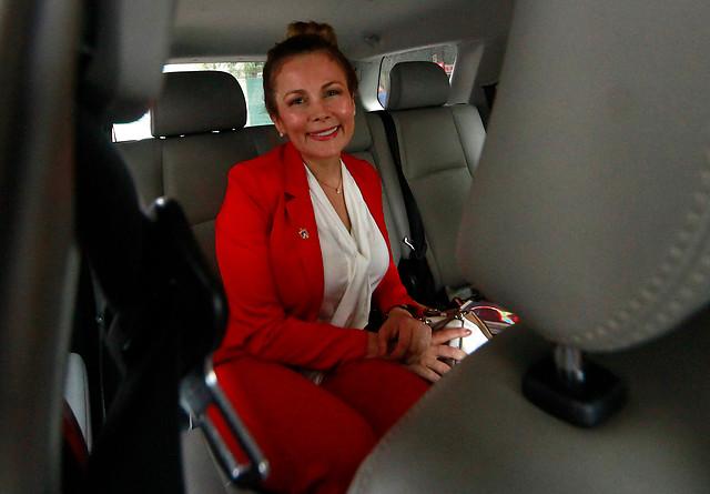 Cathy Barriga se suma a la Presidenta Bachelet y será censista este 19 de abril