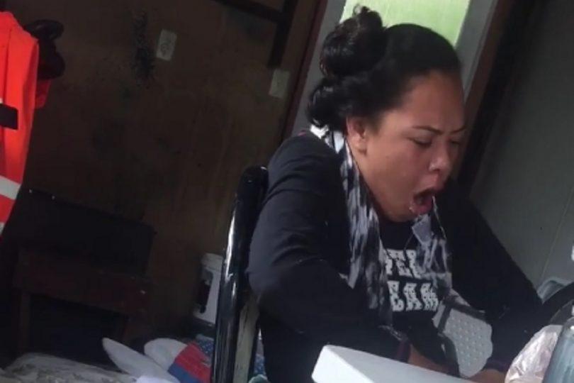 VIDEO  Joven grabó a su hermana bajo los efectos de la marihuana sintética para crear conciencia