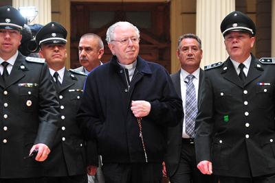 Ministro en visita rechazó demanda de víctimas de Karadima en contra de Arzobispado de Santiago