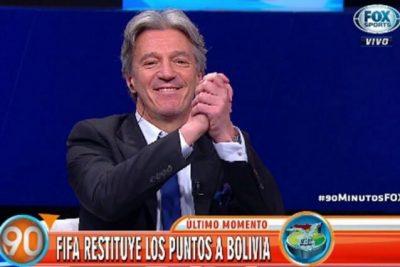 Argentina recurre al TAS para pedir que a Bolivia le devuelvan los puntos perdidos ante Chile