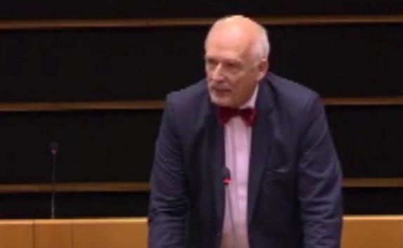La polémica intervención de un eurodiputado polaco: Las mujeres
