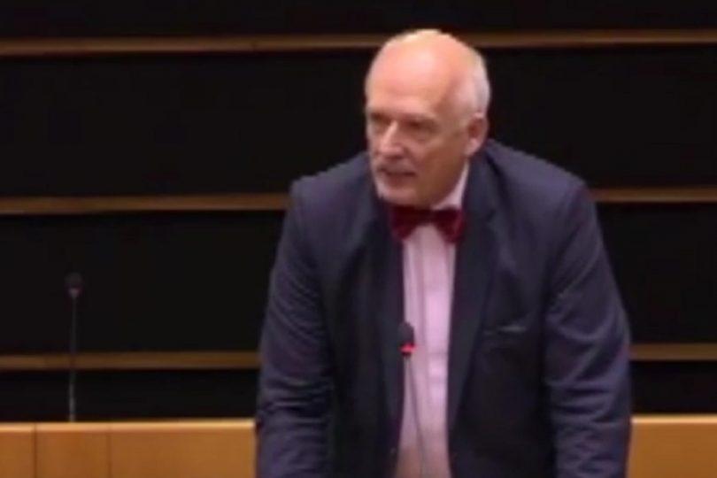 VIDEO | Impactante discurso de eurodiputado sobre por qué las mujeres deben ganar menos que los hombres