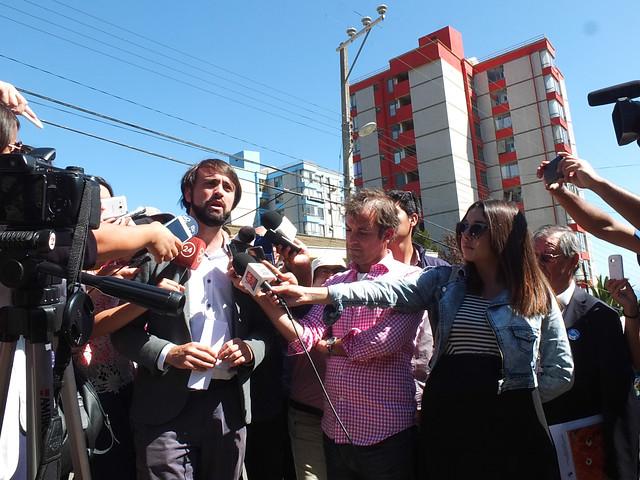 El llamado que hizo Jorge Sharp a los privados para que inviertan en Valparaíso