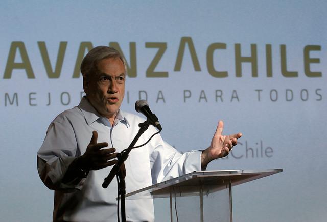 """Equipo de Sebastián Piñera presenta el eslogan de su campaña presidencial: """"Buena Onda"""""""