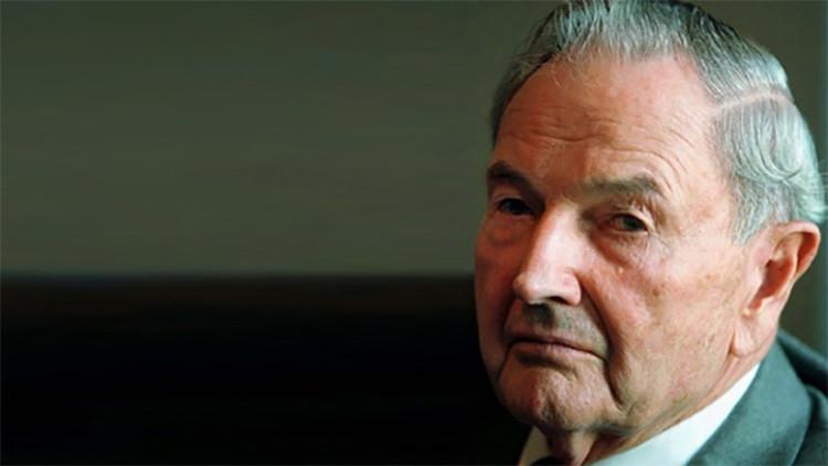 VIDEO  Murió a los 101 años: el día en que un chileno funó al multimillonario David Rockefeller