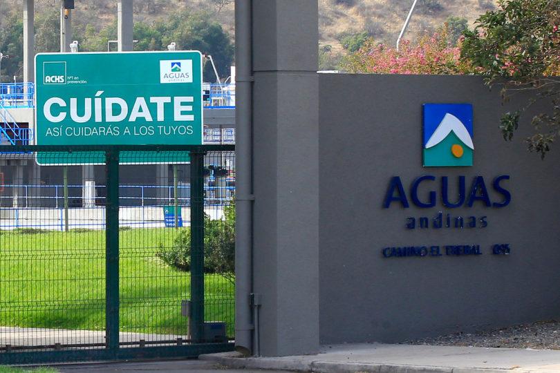Aguas Andinas: plan de obras para evitar cortes considera planta de tratamiento de aguas servidas