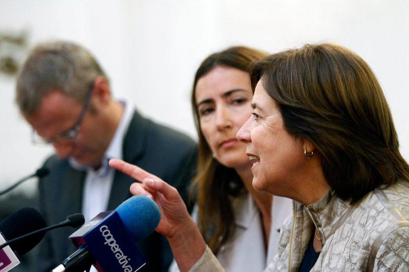"""Mariana Aylwin: """"Creo que si la DC no lleva candidato, va a votar por Piñera"""""""