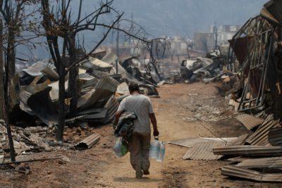 Gasto del gobierno en mega incendio supera los $44 mil millones de pesos