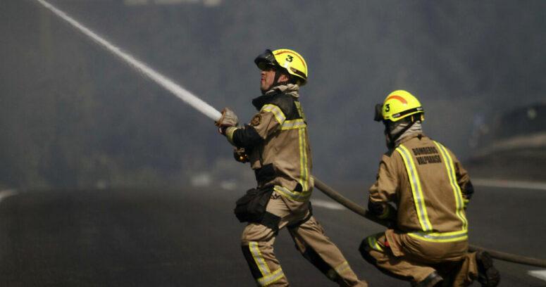 """""""Incendian oficina de la Gobernación de Llanquihue en Puerto Montt"""""""