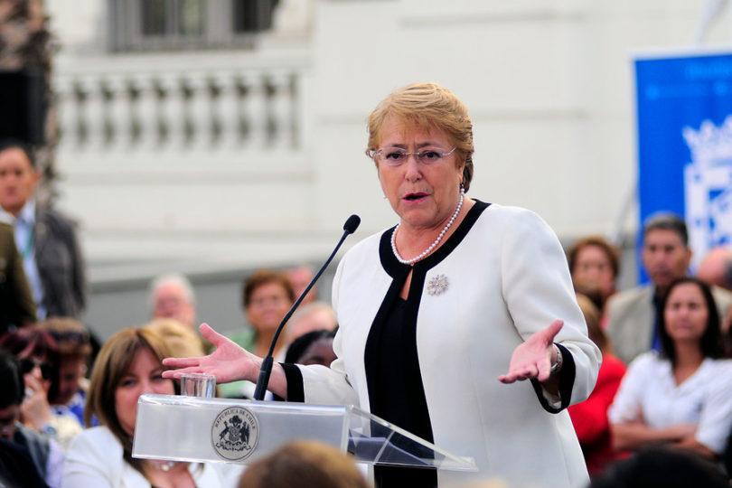 """Michelle Bachelet y evaluación de sismo: """"Hemos aprendido lecciones del pasado"""""""