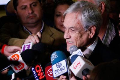 Primarias: Piñera deberá declarar patrimonio e intereses previo a inscripción el próximo miércoles