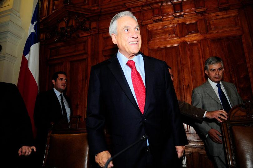 """Sebastián Piñera: """"Le pedí a mi mujer que encabece la causa de los pensionados en Chile"""""""